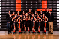 NRHS Girls Basketball 2012-2013