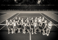 NRHS Girls Tennis 2015
