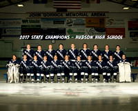 Hudson Boys Hockey State Championship Game 2017